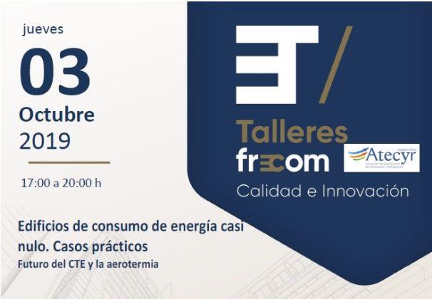 FRECOM organiza un taller sobre cómo conseguir edificios con un consumo energético casi nulo 2 FRECOM