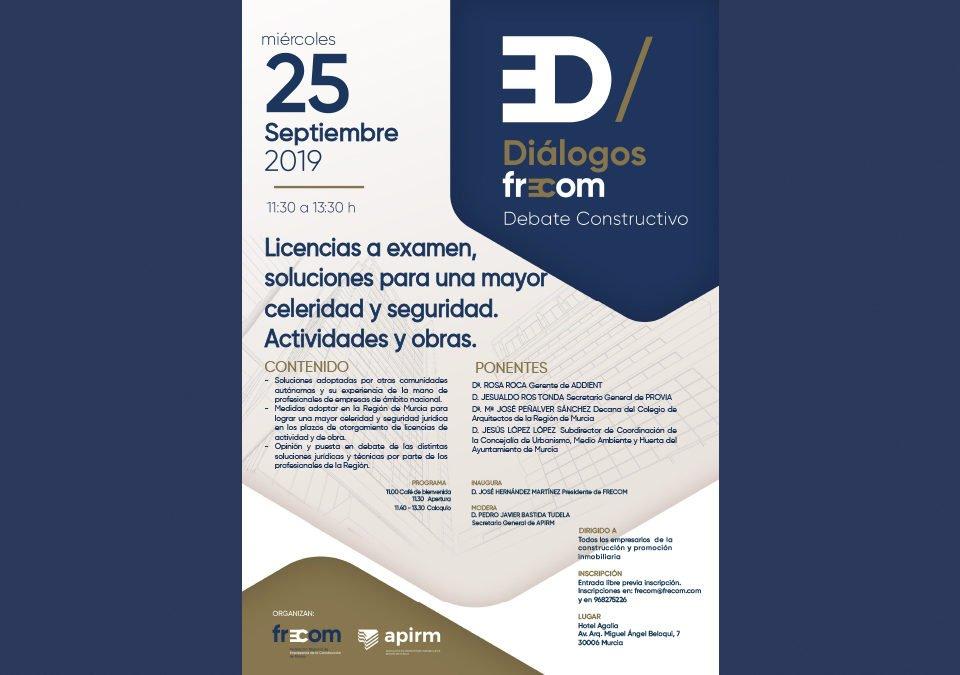 Diálogos FRECOM convoca al sector a debatir sobre licencias 18 FRECOM