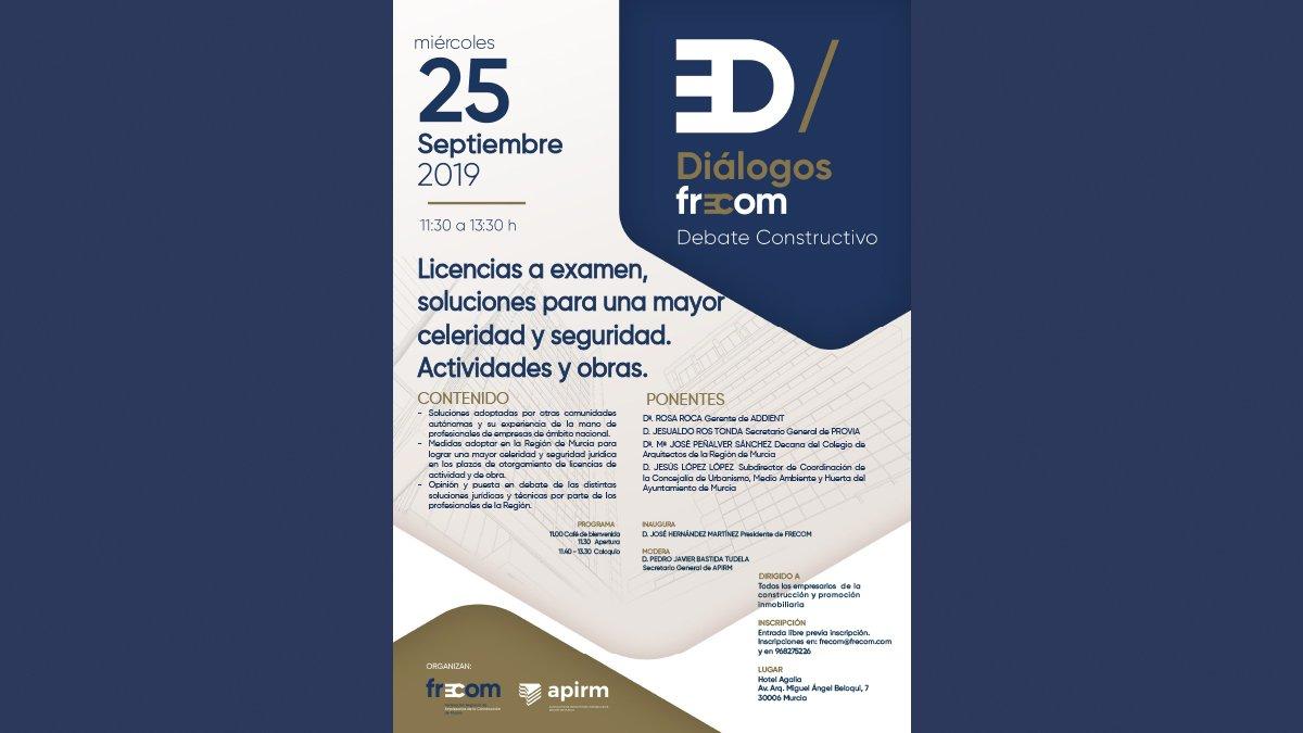 Diálogos FRECOM convoca al sector a debatir sobre licencias 2 FRECOM