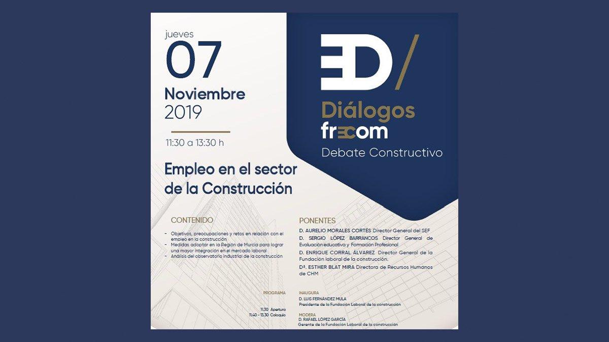 FRECOM convoca al sector a debatir sobre el empleo en la construcción 2 FRECOM