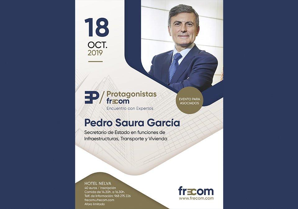 Últimas plazas para asociados para debatir con el responsable de infraestructuras y vivienda del gobierno español 17 FRECOM