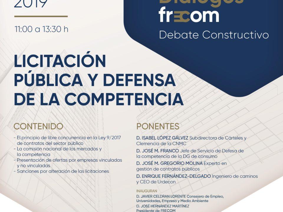 Diálogos FRECOM licitación pública y defensa de la competencia 21 FRECOM