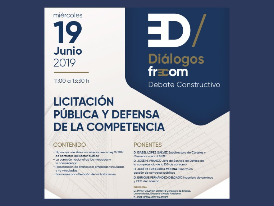LICITACIÓN PÚBLICA Y DEFENSA DE LA COMPETENCIA 23 FRECOM