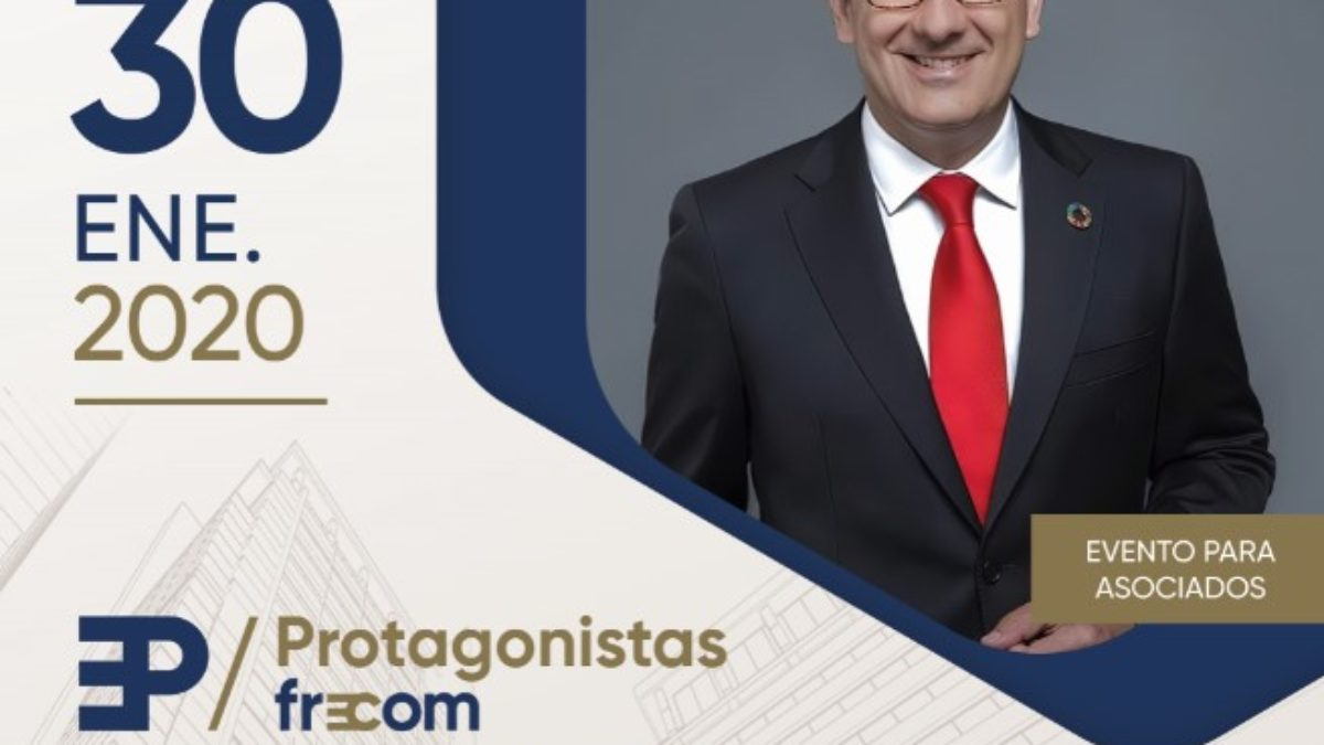 """El secretario general del PSOE, Diego Conesa, próximo """"Protagonistas FRECOM"""" 2 FRECOM"""
