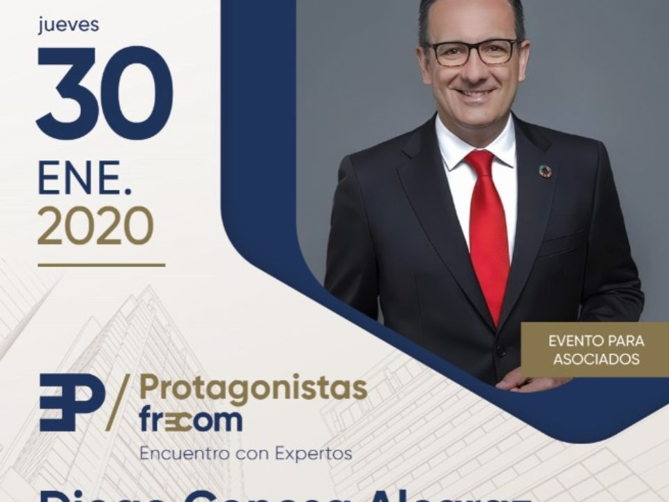 """El secretario general del PSOE, Diego Conesa, próximo """"Protagonistas FRECOM"""" 4 FRECOM"""