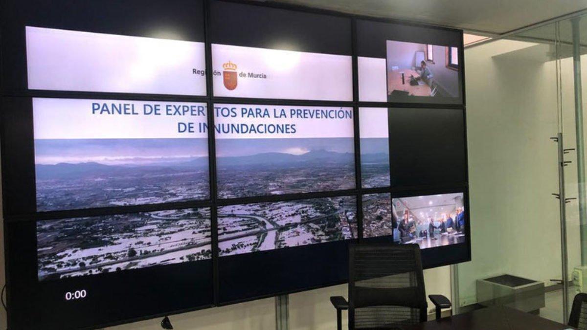 """FRECOM en la reunión del """"Panel de expertos para la prevención de inundaciones en la Región de Murcia"""" 2 FRECOM"""
