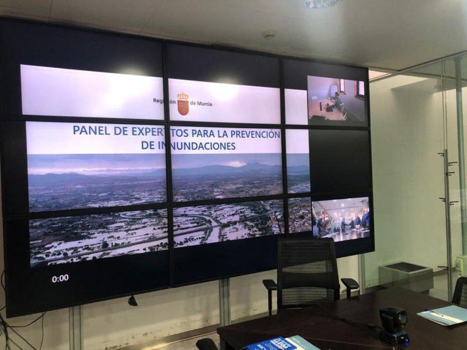 """FRECOM en la reunión del """"Panel de expertos para la prevención de inundaciones en la Región de Murcia"""" 4 FRECOM"""