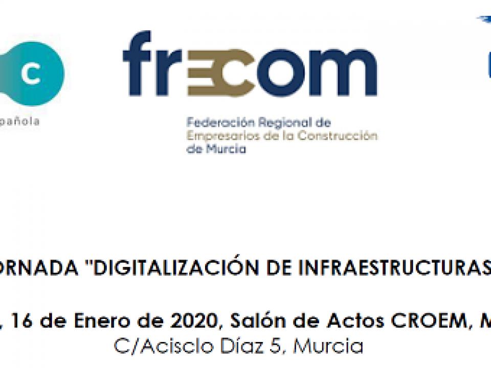 Primeras jornadas nacionales de Digitalización de Infraestructuras 28 FRECOM