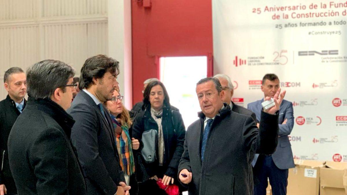 La Fundación Laboral de la Construcción formará a 255 desempleados en Murcia, Cartagena y Alhama 2 FRECOM