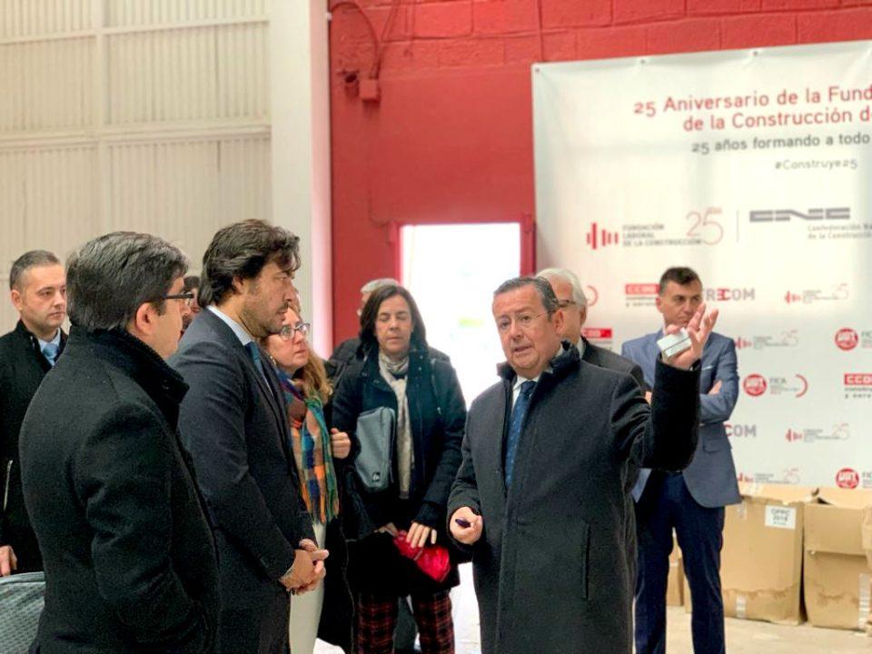 La Fundación Laboral de la Construcción formará a 255 desempleados en Murcia, Cartagena y Alhama 10 FRECOM