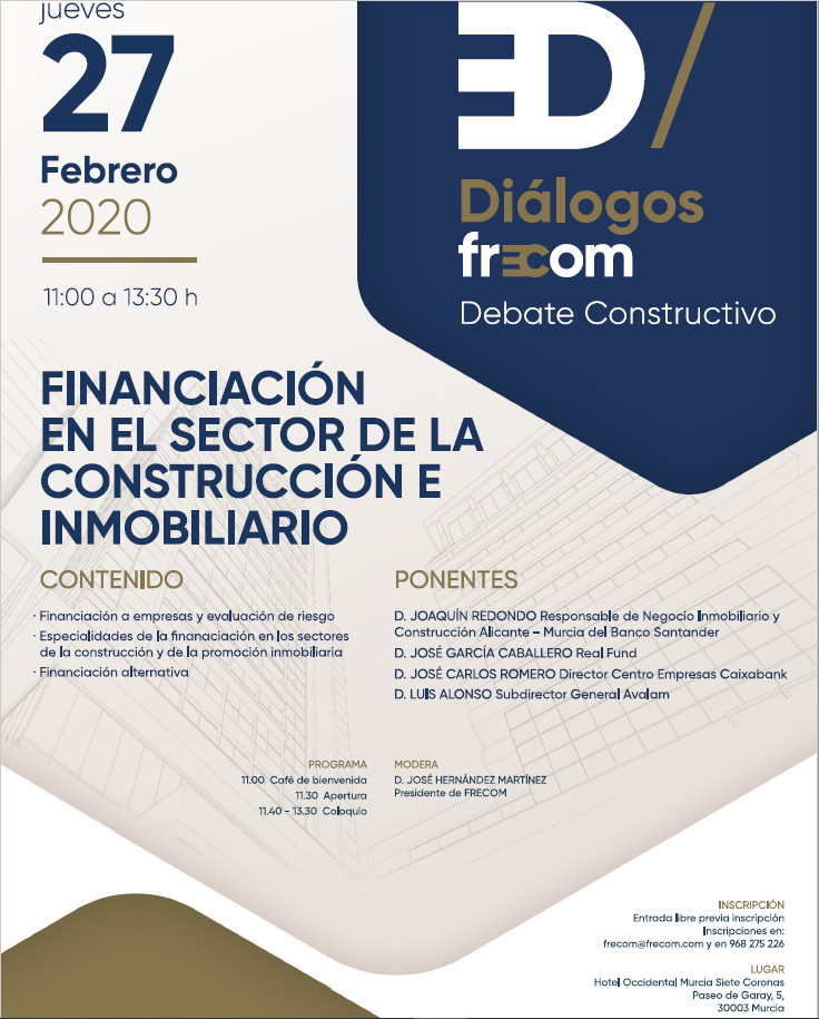 Diálogos FRECOM 27 de febrero de 2020 6 FRECOM