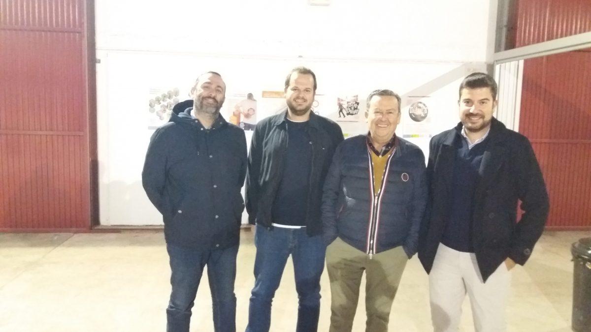 Empresarios de la construcción de Lorca visitan el Centro de Formación de la Fundación Laboral en Alhama de Murcia 2 FRECOM