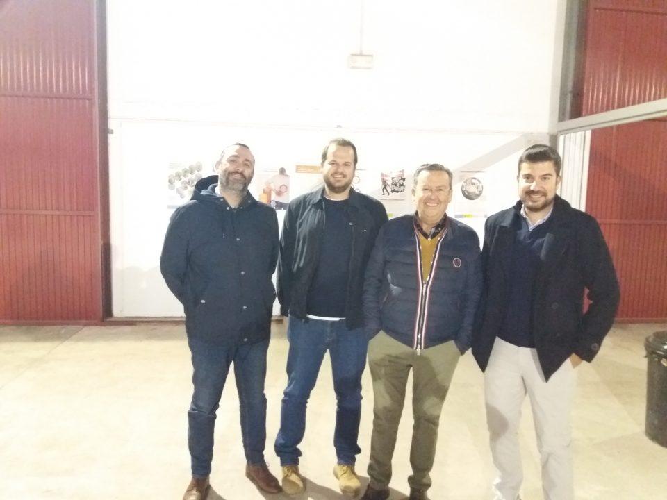 Empresarios de la construcción de Lorca visitan el Centro de Formación de la Fundación Laboral en Alhama de Murcia 30 FRECOM