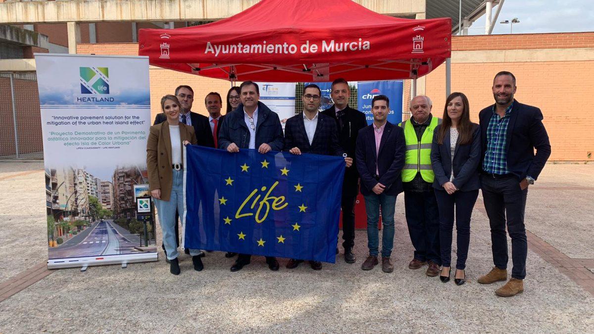 FRECOM visita las obras del proyecto europeo 'Life Heatland' 2 FRECOM