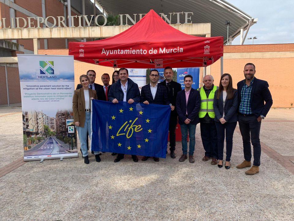 FRECOM visita las obras del proyecto europeo 'Life Heatland' 18 FRECOM