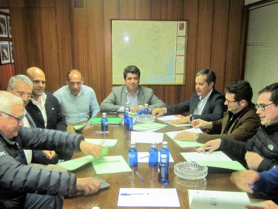 Imagen de la reunión de la Junta Directiva de AFAREM