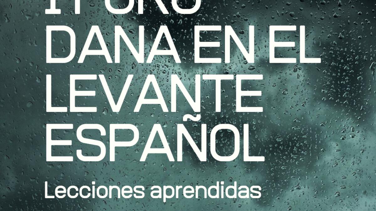 Expertos en inundaciones se dan cita mañana martes en el 'I Foro DANA en el Levante Español' 2 FRECOM