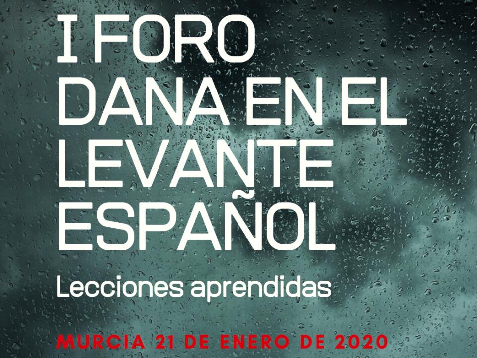 Expertos en inundaciones se dan cita mañana martes en el 'I Foro DANA en el Levante Español' 12 FRECOM