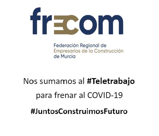 El equipo de FRECOM se sumó el lunes al teletrabajo 18 FRECOM