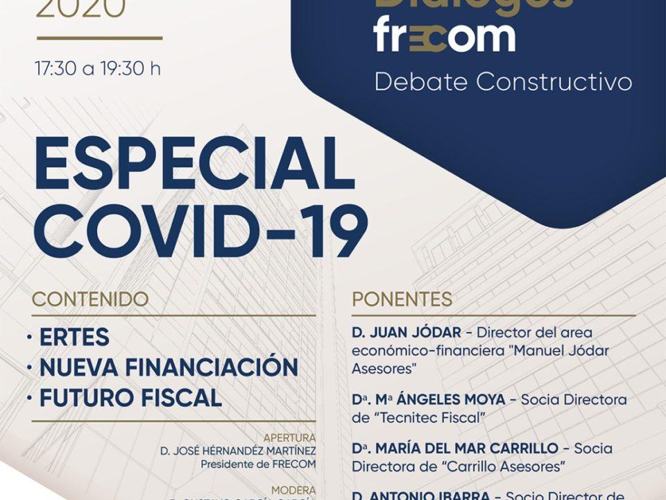 ERTES, nueva financiación y futuro fiscal, los tres temas a tratar en el especial COVID-19