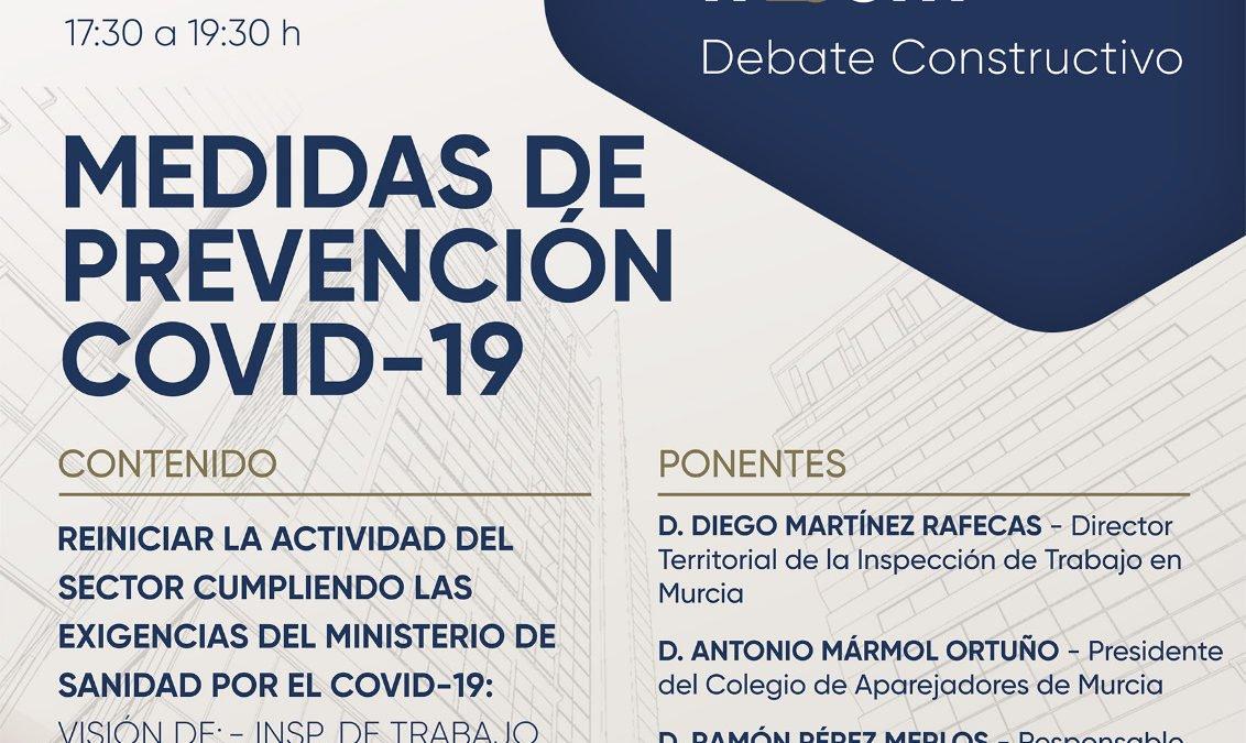 Nuevo Diálogos FRECOM, especial COVID19, centrado en las exigencias del Ministerio de Sanidad