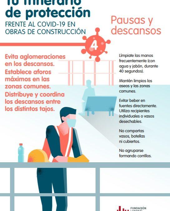 FRECOM distribuye entre las empresas una sencilla guía de prevención para garantizar la salud de los trabajadores que reanudan mañana su actividad 2 FRECOM