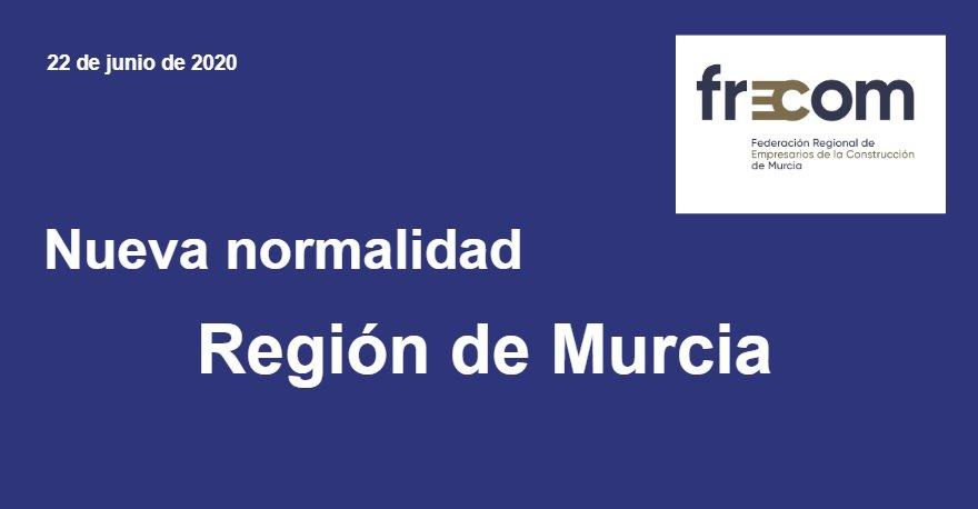 Nueva normalidad Región de Murcia