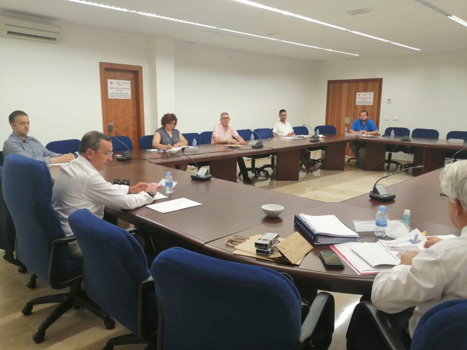 Reunión del Consejo Territorial y del OPPC