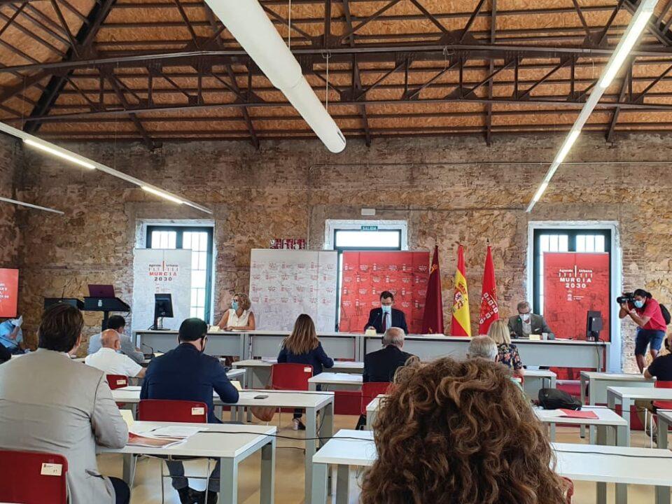 FRECOM asiste a la reunión del Consejo Social de la Ciudad de Murcia, presidido por el Alcalde de Murcia, José Ballesta