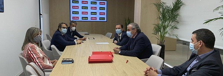 Aválam y Bankia firman un convenio para ampliar a 100 millones de euros la línea de financiación para autónomos y pequeñas empresas de la Región de Murcia 2 FRECOM