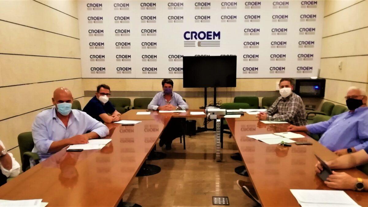 Imagen de la reunión de la Junta Directiva de AFAREM, celebrada el 23 de septiembre