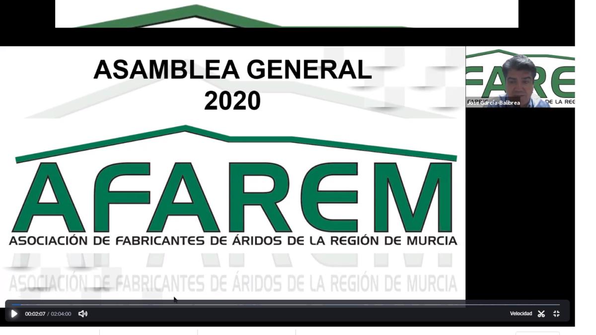 AFAREM celebra su Asamblea General ordinaria en formato digital