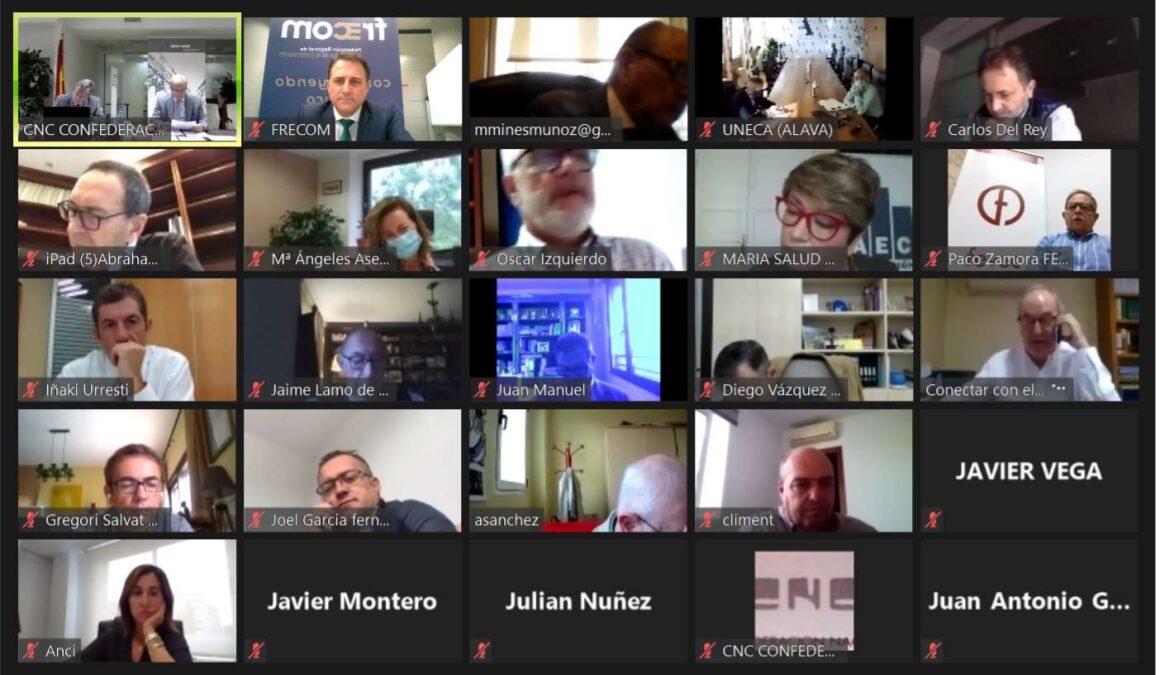 Reunión online del Consejo de Gobierno de CNC