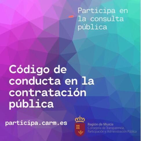 El Gobierno regional aprueba un Código de Conducta para dar más transparencia a las contrataciones públicas 7 FRECOM