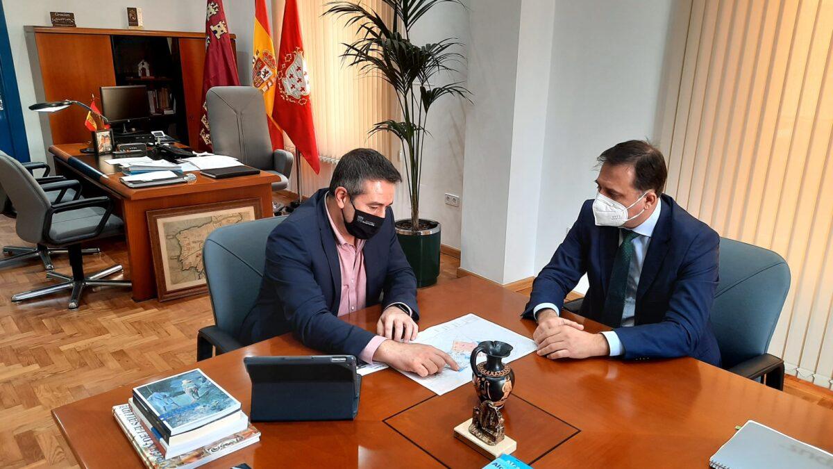 El presidente de FRECOM se reúne con el alcalde de Alcantarilla
