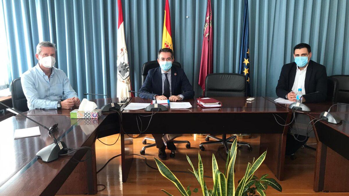 Reunión FRECOM y Ayuntamiento de Lorquí