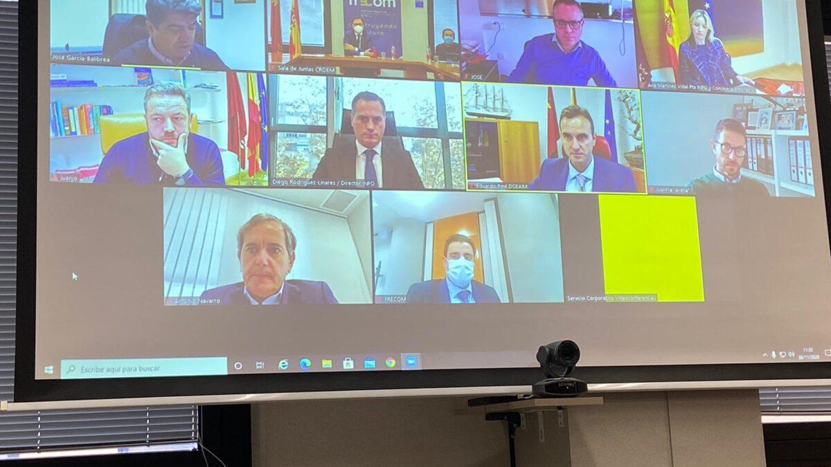 El Comité Ejecutivo se reúne con la consejera de Empresa, Industria y Portavocía
