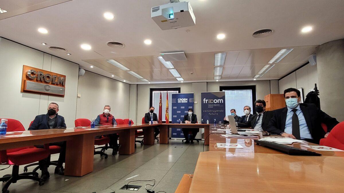 FRECOM pide que el sector de la construcción sea protagonista en la asignación de los fondos europeos de recuperación económica 2 FRECOM