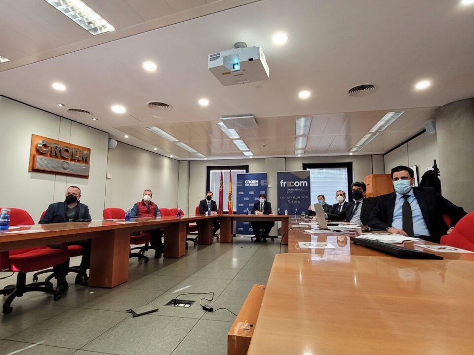 FRECOM pide que el sector de la construcción sea protagonista en la asignación de los fondos europeos de recuperación económica 17 FRECOM