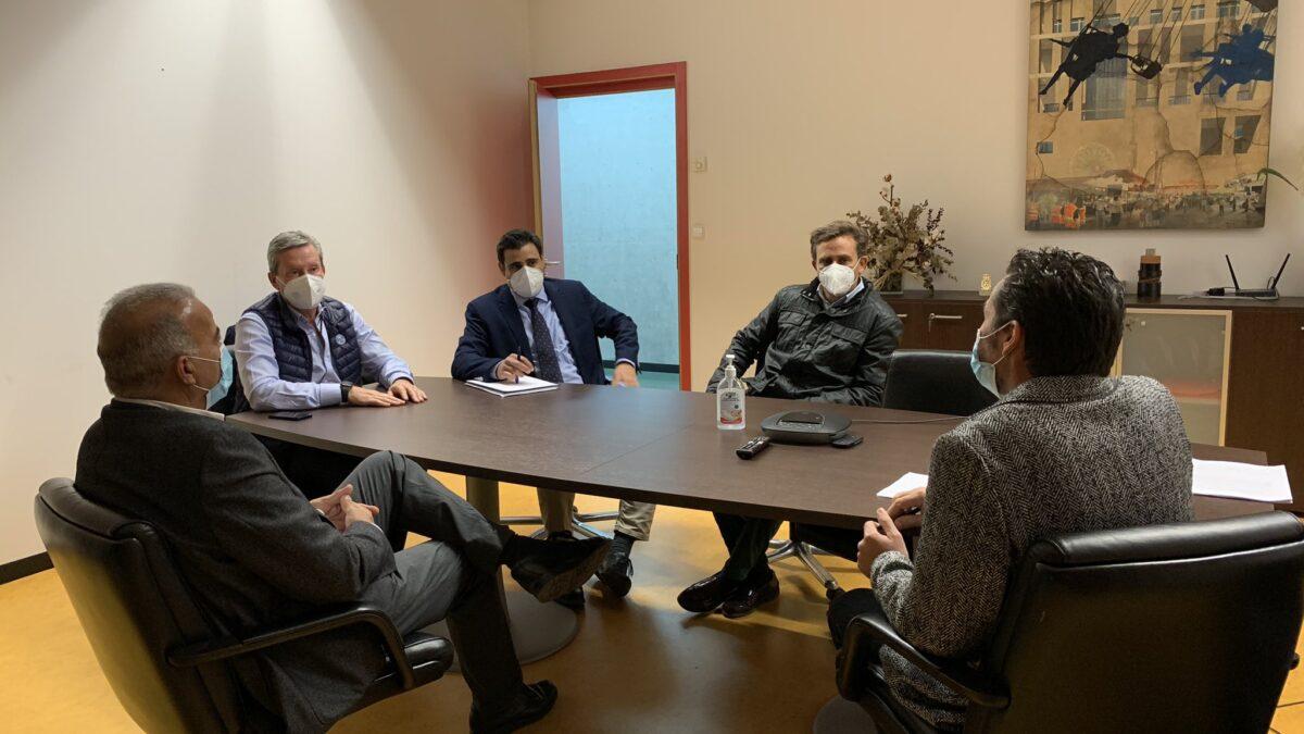 La Cámara de Contratistas y el Ayuntamiento de Murcia acuerdan trabajar en propuestas que contribuyan a mejorar el municipio 2 FRECOM