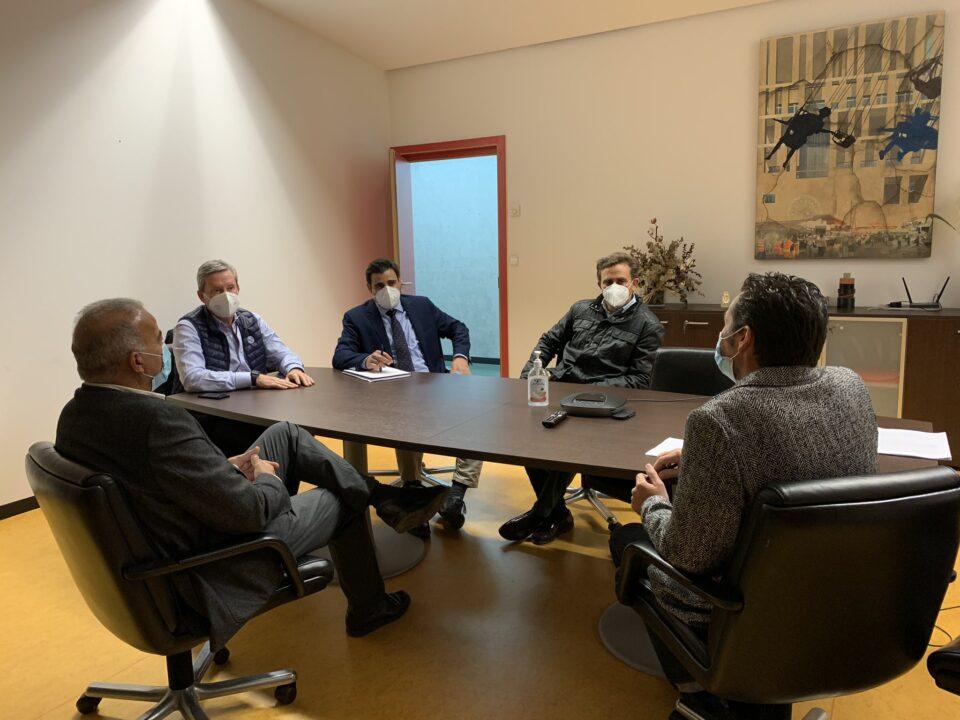 La Cámara de Contratistas y el Ayuntamiento de Murcia acuerdan trabajar en propuestas que contribuyan a mejorar el municipio 4 FRECOM