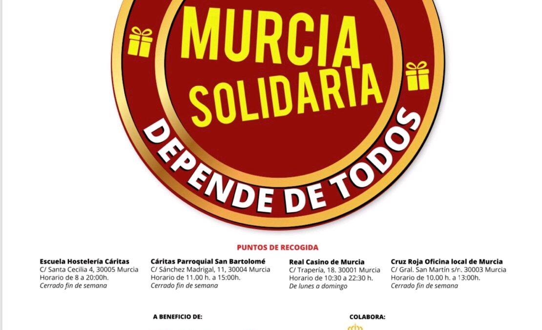 FRECOM se suma a la campaña navideña 'Murcia Solidaria' con la que recoger alimentos y juguetes a beneficio de Cáritas y Cruz Roja 2 FRECOM