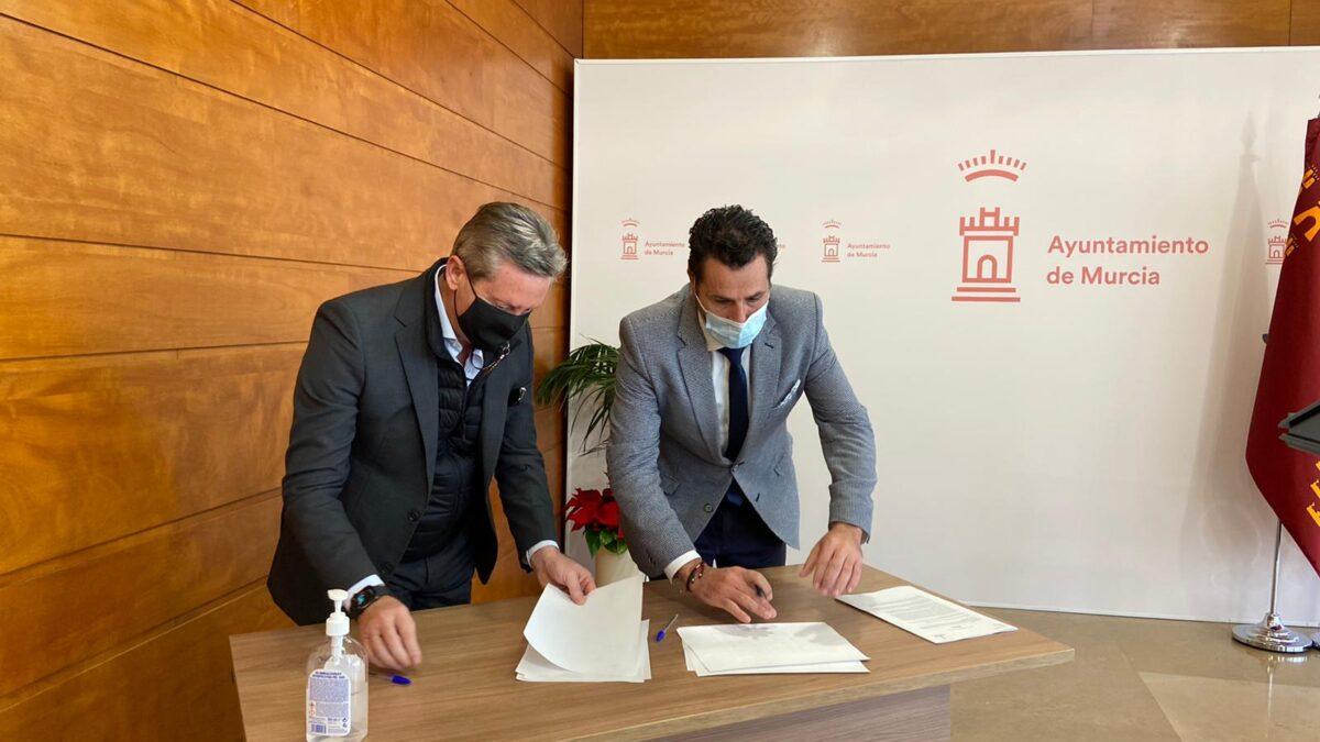 La Cámara de Contratistas de Obra Pública firma un convenio con el Ayuntamiento de Murcia para mejorar la calidad, agilidad y seguridad jurídica en las contrataciones 2 FRECOM