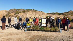 AFAREM y ARBA hacen la primera plantación en la cantera abandonada de Los Ásperos 3 FRECOM