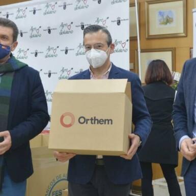 Grupo Orthem dona 5.000 litros de leche a los más necesitados 7 FRECOM
