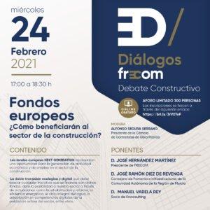 'Diálogos FRECOM' aborda el fondo 'Next Generation' y los beneficios para el sector 1 FRECOM