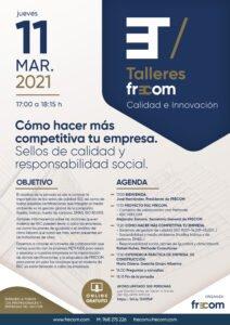 Talleres FRECOM aborda esta tarde una jornada para hacer más competitivas a las empresas del sector 1 FRECOM