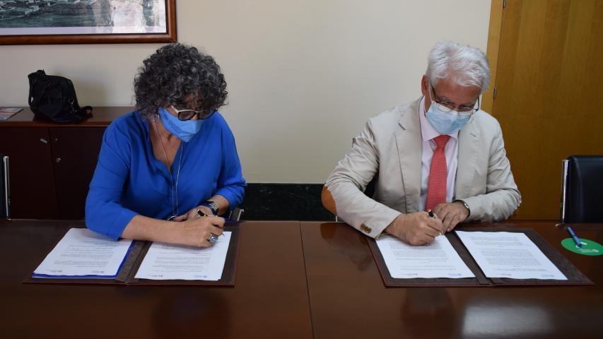 La Fundación Laboral de la Construcción y la UPCT impulsan la formación en el sector gracias a la firma de un convenio de colaboración 4 FRECOM