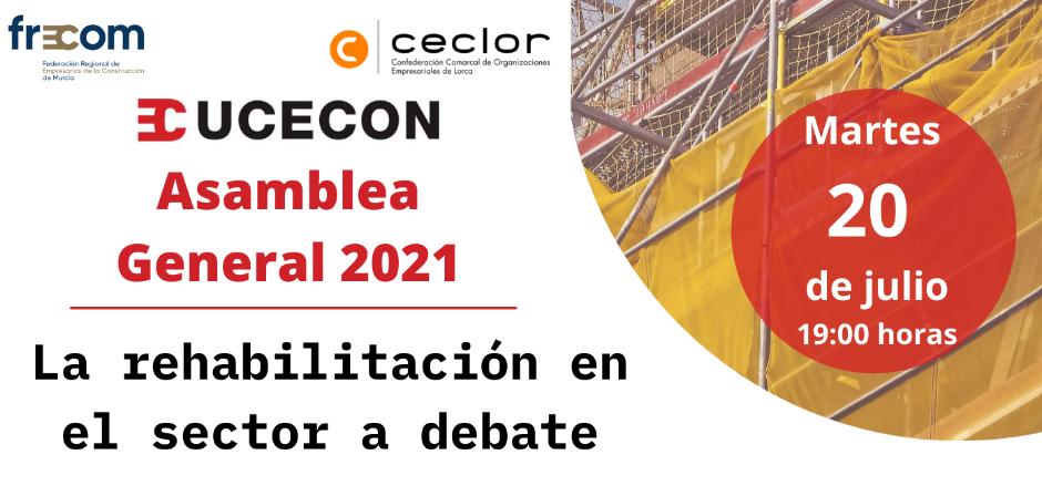 UCECON celebra su Asamblea General el 20 de julio con un debate sobre las ayudas a la rehabilitación en el sector de la construcción 12 FRECOM