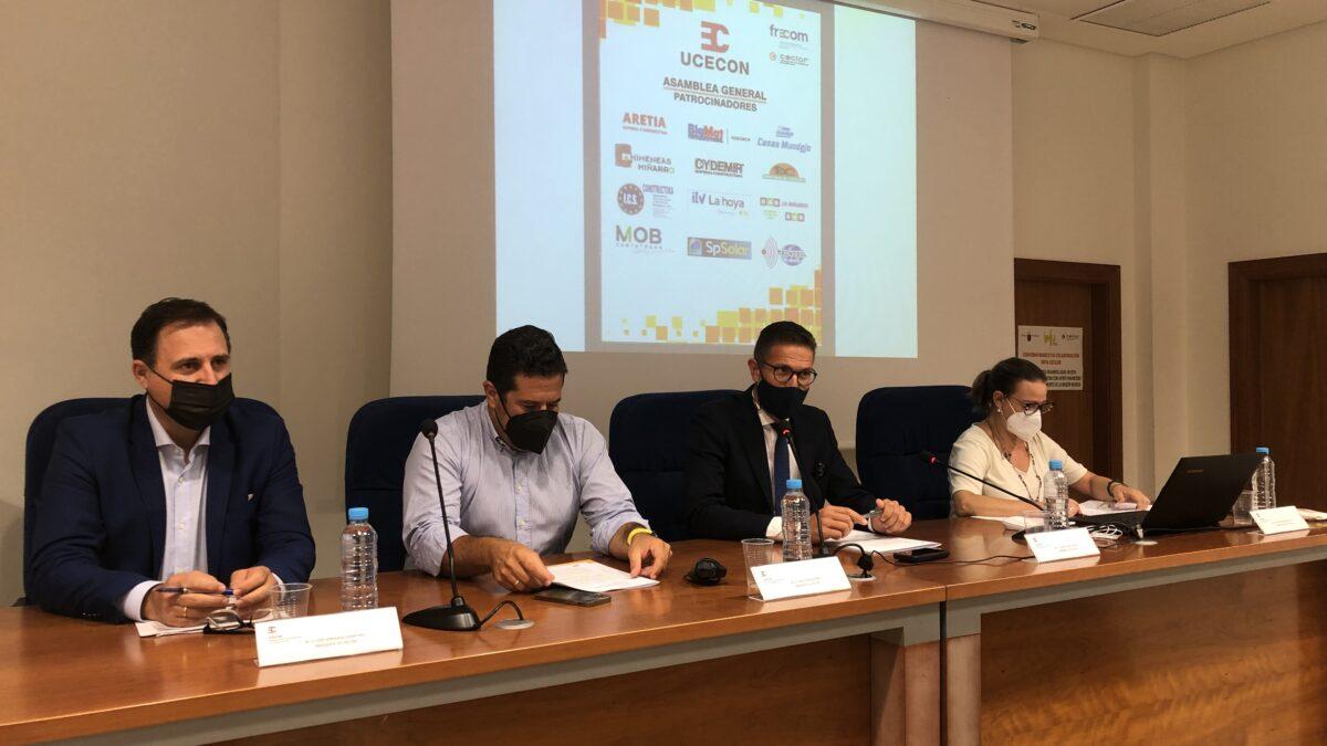 Los empresarios de la construcción de Lorca (UCECON) debaten sobre las ayudas a la rehabilitación de viviendas en su Asamblea General 2 FRECOM